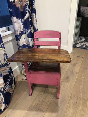 Vintage children's/kids desk for Sale in San Mateo, CA