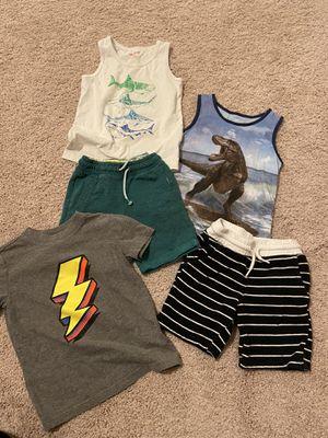 Bundle summer clothes boys size 4 for Sale in Nashville, TN