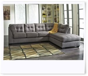 Ashley Grey sectional for Sale in NEW CARROLLTN, MD