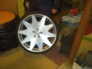 FREE RIMS. W purchase of rims posted in pic for Sale in Quincy, MA