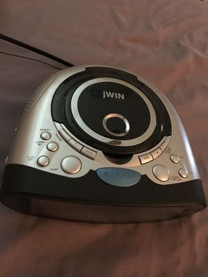 Excellent condition CD player alarm clock radio for Sale in Plantation, FL