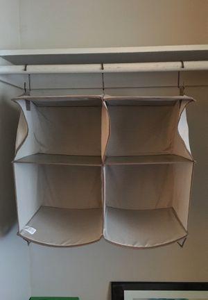 2x2 closet organizer for Sale in San Diego, CA