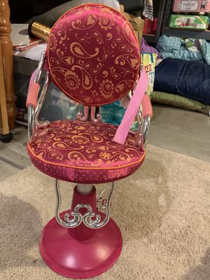 Doll Beauty chair for Sale in Denver, CO