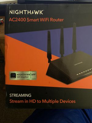 Nighthawk ac2400 smart router for Sale in Peoria, AZ