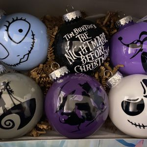 Nightmare Before Christmas Ornaments for Sale in Perris, CA
