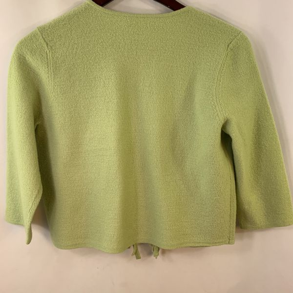 Chico's 1 Wool Sweater Cardigan Sweater
