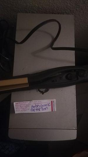Revlon ceramic flat hair iron for Sale in Glendale, AZ