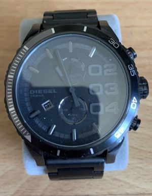 Watch - Diesel black large face men's for Sale in Los Angeles, CA