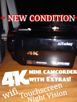 $180 - price is negotiable -AWESOME 4K MINI DV CAMCORDER. for Sale in San Diego, CA