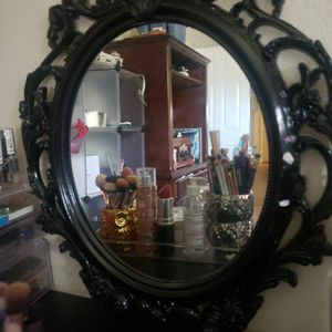 Vanity With Chair Small Mirror for Sale in San Antonio, TX