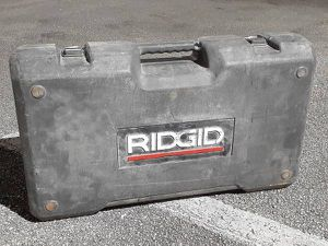 Ridgid Tool Case for Sale in Fort Lauderdale, FL