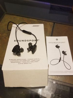 Bose Soundsport wireless headphones for Sale in Butler, PA