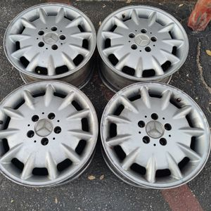 Mercedes E-class 16 inch stock wheels. $60 each. 5 on 112mm for Sale in Montebello, CA