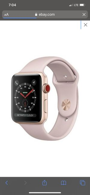 Apple Watch series 3 42 mm rose gold for Sale in Apple Valley, CA