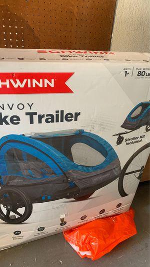 Schwann convoy bike trailer 2 passenger seat for Sale in Lemon Grove, CA