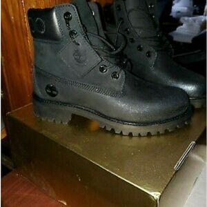 Black Timberland X Jimmy Choo Boots 8.5 for Sale in Lemoyne, PA