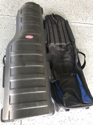 SKB golf hard case and soft case for Sale in Bartow, FL