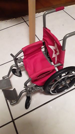 American girl doll wheel chair for Sale in Baltimore, MD