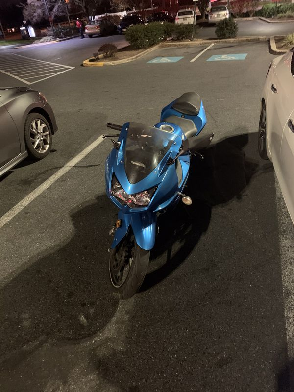 Ninja Kawasaki 2010 300cc