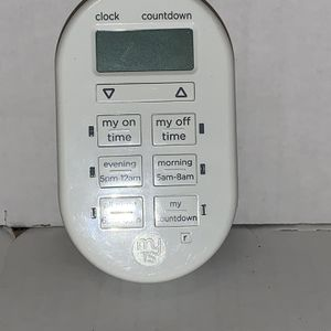 GENERAL ELECTRIC MY TOUCH SMART INDOOR PLUG-IN DIGITAL TIMER 26892 for Sale in Manassas, VA