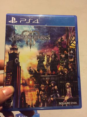 Kingdom hearts 3 for Sale in Akron, OH