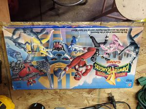 Power Rangers board game 1993 for Sale in Haddon Heights, NJ
