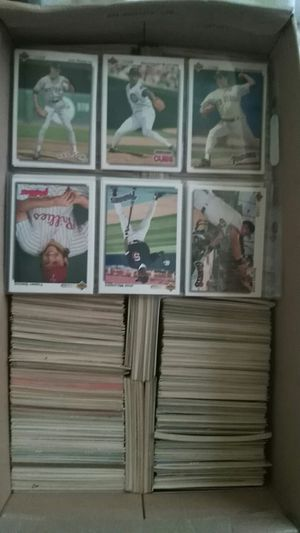 Baseball cards in excellent condition pick up only for Sale in Auburndale, FL