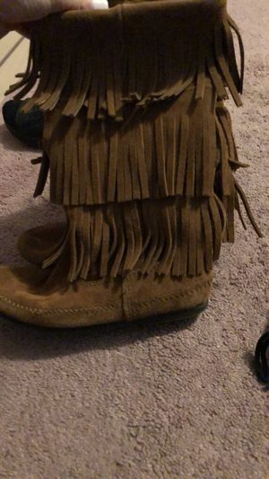 Minnetonka Fringe Boots for Sale in Ambler, PA