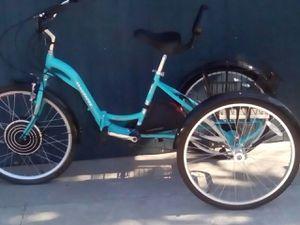 26 inch folding ELECTRIC trike bike for Sale in La Puente, CA