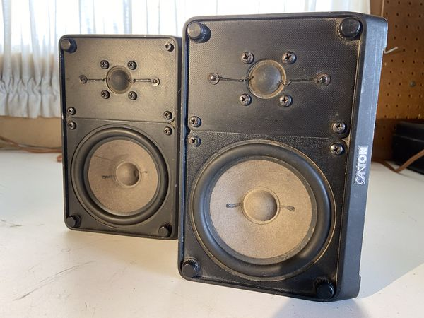 Canton speakers made in Germany.