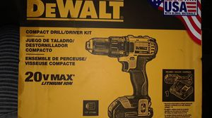 Dewalt 20v compact drill and driver kit... comes with 2batterys and charger. for Sale in Portland, OR