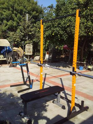 Squat and flat bench only for Sale in Alhambra, CA