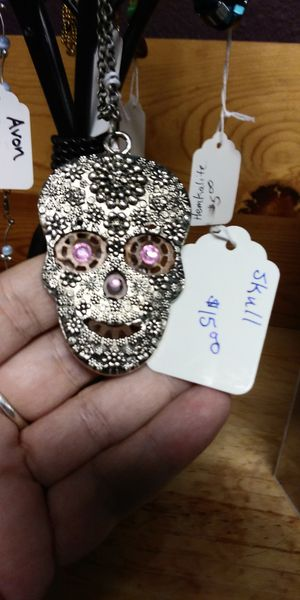 NEW Unique Candy skull necklace for Sale in Tacoma, WA