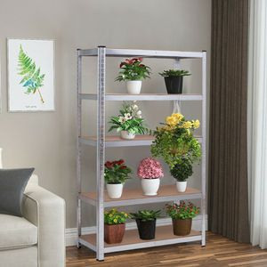 "72"" Storage Shelf Steel Metal 5 Levels Adjustable Shelves for Sale in Chino, CA"
