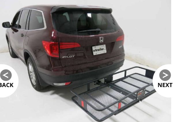 "Hitch Cargo Carrier for 2"" Hitches - 24"" x 60"" (New in Box!)"