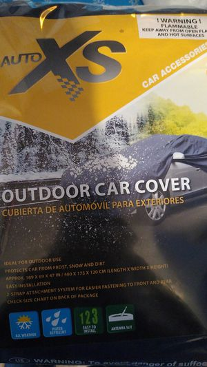 Auto XS LARGE outdoor car cover for Sale in Mahtomedi, MN