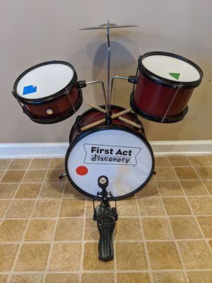 First Act Discovery Drum Set for Sale in Raleigh, NC