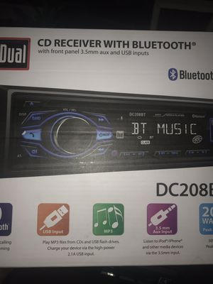 DUEL BLUETOOTH CAR STEREO SYSTEM for Sale in Los Angeles, CA