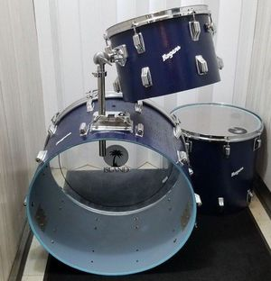 """Island Music Era Rogers Drum Set Lacquer Shell 3PK 22"""" Bass 16"""" Floor 13"""" Tom for Sale in Eastpointe, MI"""