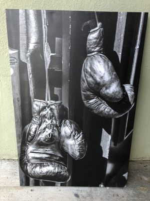 Boxing Art Canvas for Sale in Los Angeles, CA