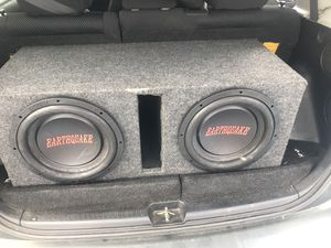10s speaker's and 2000 autotek amp. for Sale in Charlotte, NC