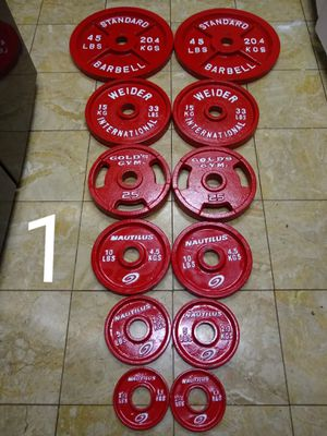 Set of olympic weights for Sale in Chula Vista, CA