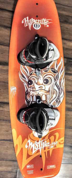 Hyperlite Motive 119 Wakeboard with boots for Sale in Kirkland, WA
