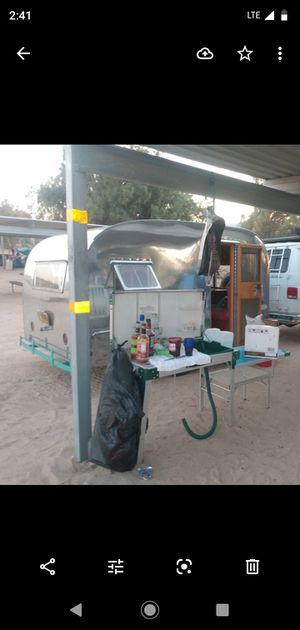 1946 lil Cesar vintage can ham all original camper trailer for Sale in San Diego, CA