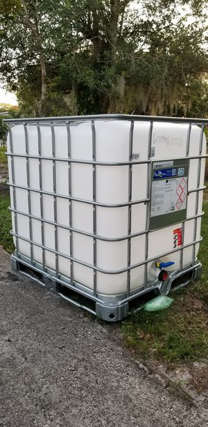 WATER TANK for Sale in Bartow, FL