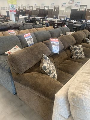 Teano Chocolate Sofa & Loveseat only $699 ! ✅ for Sale in Mesa, AZ