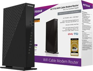 Netgear C6300-100NAS AC1750 (16x4) DOCSIS 3.0 WiFi Cable Modem Router Combo (C6300) Certified for Xfinity from Comcast, Spectrum, Cox, Cablevision & for Sale in Fort Lauderdale, FL