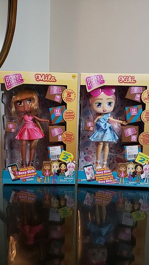 Jay at play Boxy Girls Series 2 Dolls- Kiki and Mila for Sale in Fort Lauderdale, FL