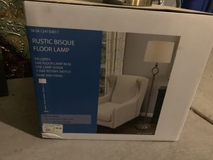 Rustic floor lamp for Sale in San Antonio, TX