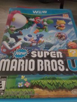 New Super Mario Bros Wii U for Sale in Vancouver,  WA
